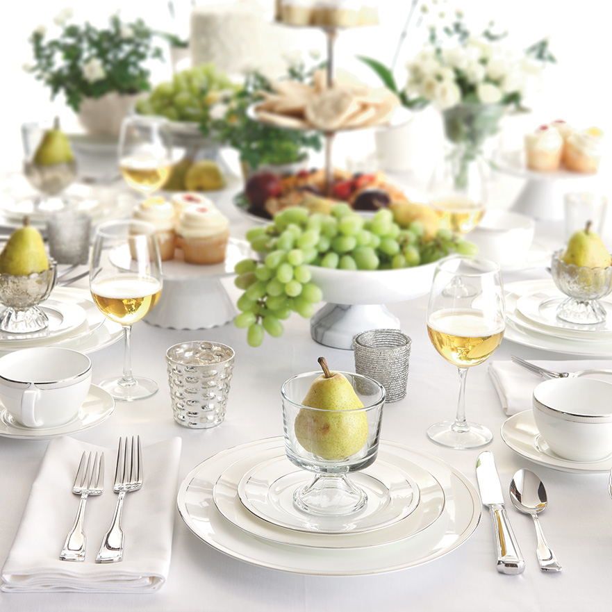 Table setting how to set a proper table Simple table setting for lunch