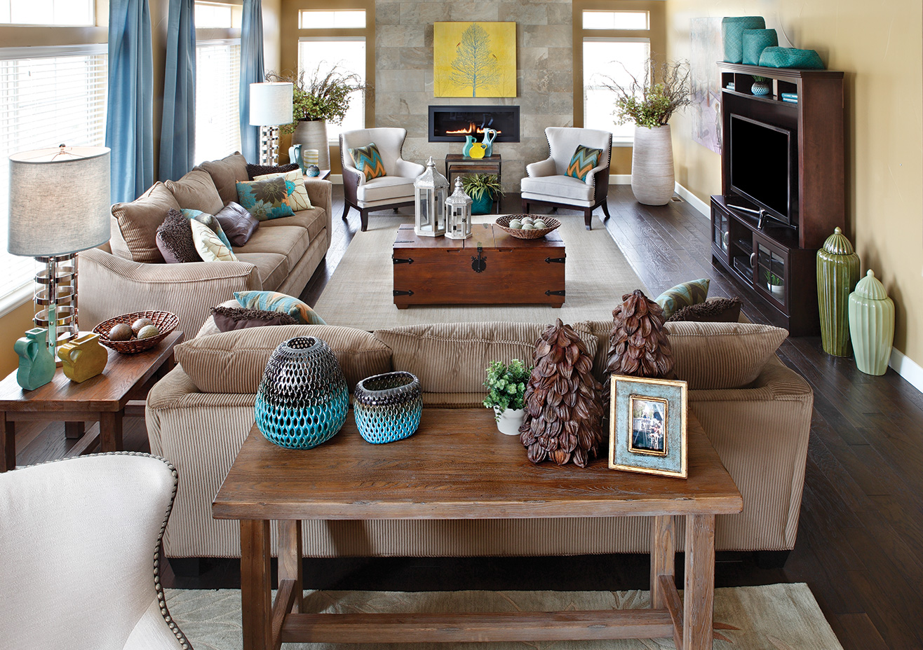 Tips for updating your living room arrangement for Family room arrangements