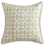 Garden Lattice Pillow, Sage