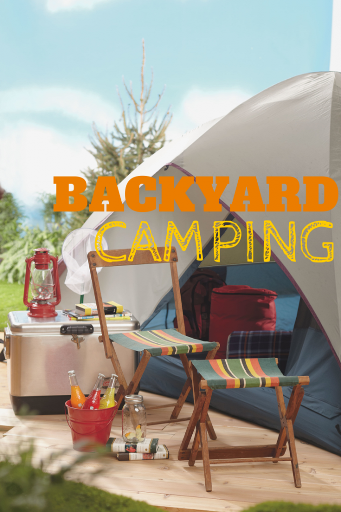 How to go Backyard Camping | Home is Here