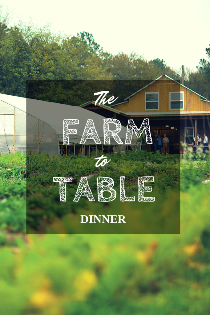 The Farm to Table Dinner - Home is Here