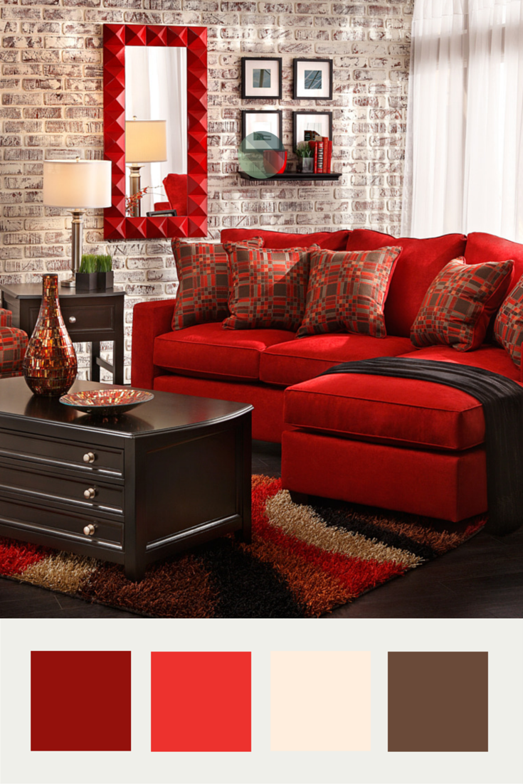 Dramatic Living Room. Raquel Sofa Group From Sofa Mart.