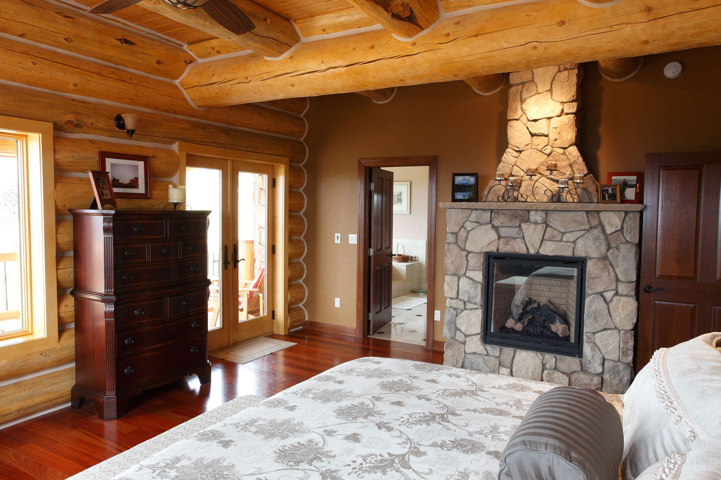 Decorating A Log Home Home Is Here