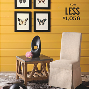 Rustic And Refined Look For Less Home Is Here