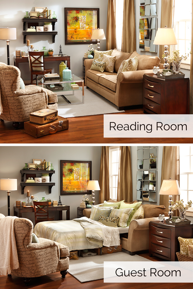 Guest Room Two Ways
